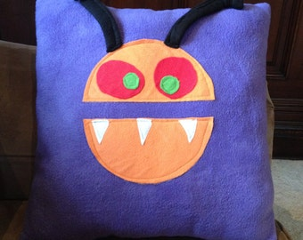 silly monster pillow