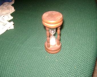 Vintage Wood Egg Timer