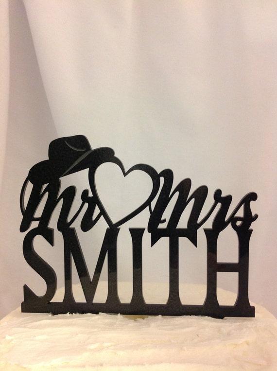 custom western wedding cake toppers cowboy country weddings happy