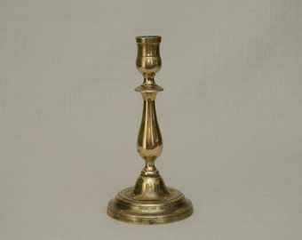 Vintage French Brass Candle Stick Holder