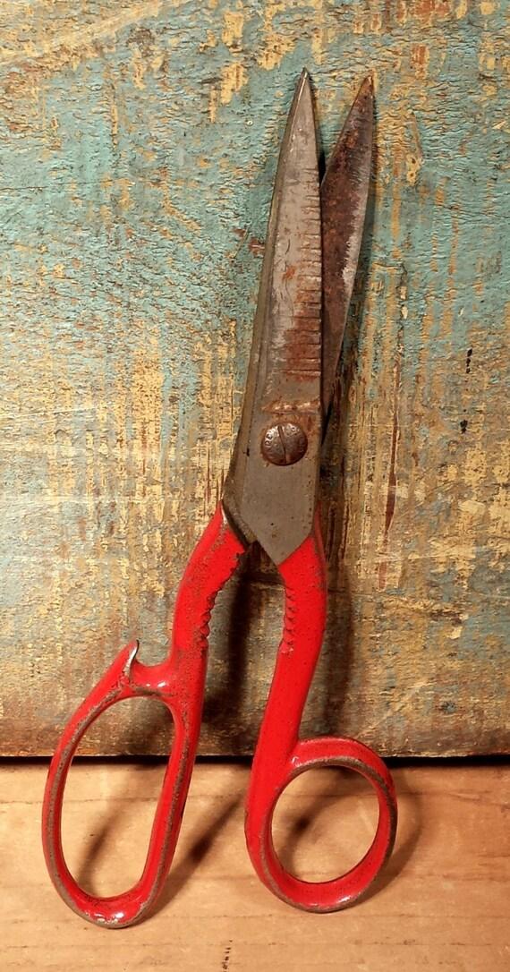 vintage kitchen shears scissors with bottle opener. Black Bedroom Furniture Sets. Home Design Ideas