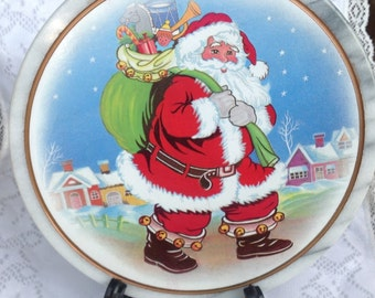 Santa Marble Trivet Plate Holder Christmas Holiday Decor Gift Hot Pad