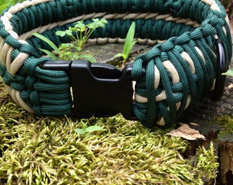 Paracord Dog Collar (Double King Cobra)