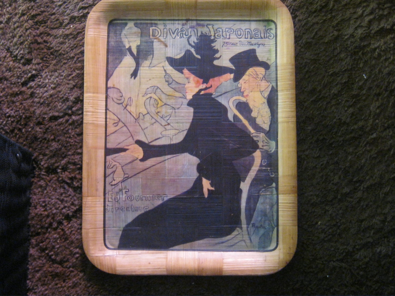 Vintage tip tray divan japonais print by french artist henri for Divan vintage