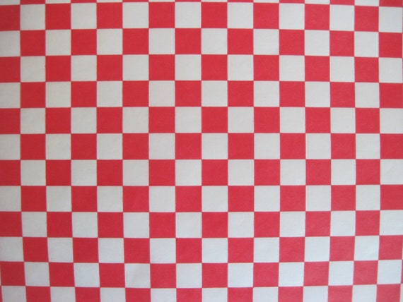 Checkered Wrapping Paper Wrap ◅ ▻ Wax Paper-50