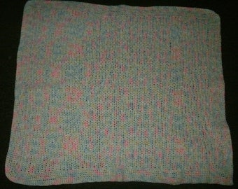 Crocheted Baby Afghan