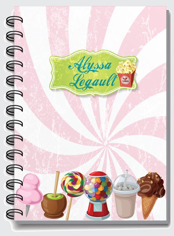 fun notebooks for girls