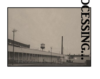 Processing; A Chapbook of Poetry by TJ Gagliardi