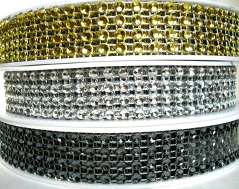 1 m trim with sequins 20 mm w
