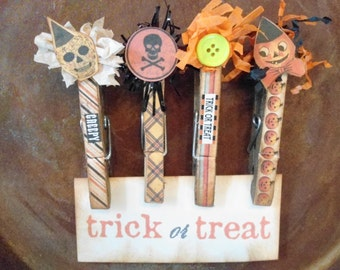 Halloween Decorative Clothes Pins