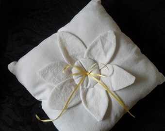 Country Ring Bearer Pillow