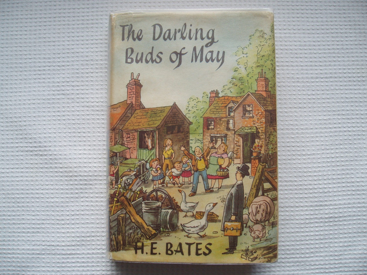c1958 the darling buds of may by h e bates cover. Black Bedroom Furniture Sets. Home Design Ideas