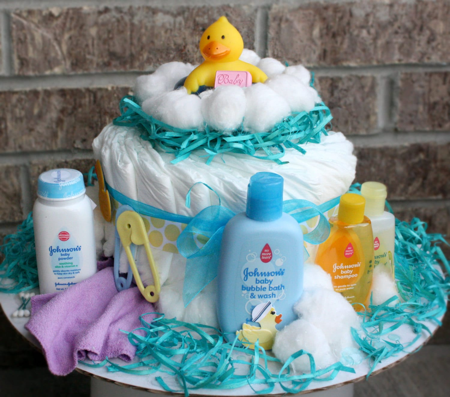 Bubbles Bath Time Diaper Cake By MckayCakesnCrafts On Etsy