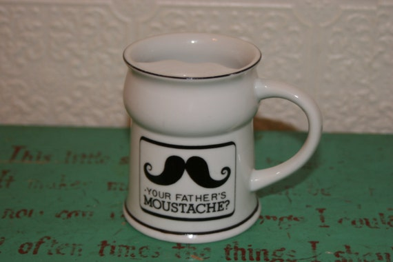 Mustaches Mug Mustache Mug With Mustache