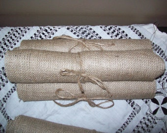 NEW LOWER PRICES Natural Burlap Table Runner Burlap Runners Rustic Country Chic Wedding Reception Party Shower Decor