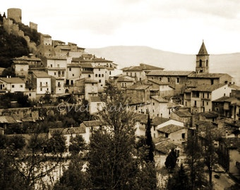 Fossa L'Aquila Italy matted fine art photography print