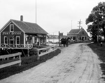 Post Office in Gloucester Massachusetts 1905 Historical Photo Reproduction 8x10