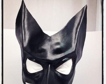 Kate Kane Batwoman Cosplay Mask (leather)