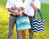 Boys Monogrammed Easter Basket