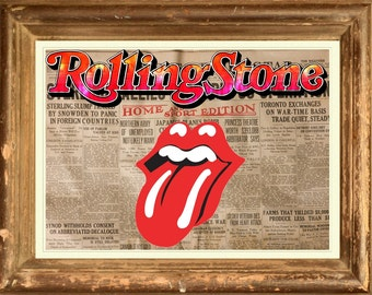 The Rolling Stones Poster Print wall art  HH10917 S15