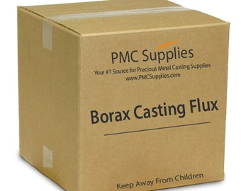 Anhydrous Borax Deoxidizing Casting Flux Course Powder for Melting Refining Brazing Precious Metals Gold Silver Copper