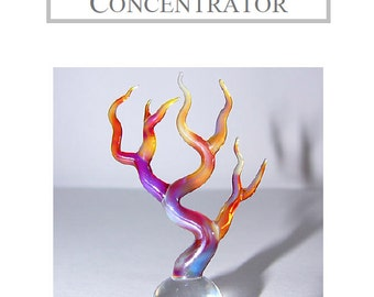 Boro on a Concentrator Flameworking Lampworking Tutorial by Pipyr