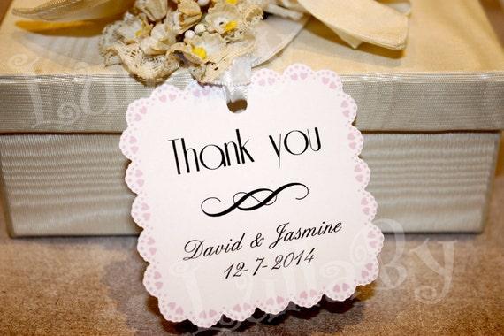 Tags bomboniera matrimonio personalizzati di lullabypartyshop - Ringraziamento tacchino al colore ...