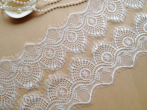 how to make a bridal veil with lace trim