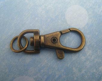 Antique Gold Keychain