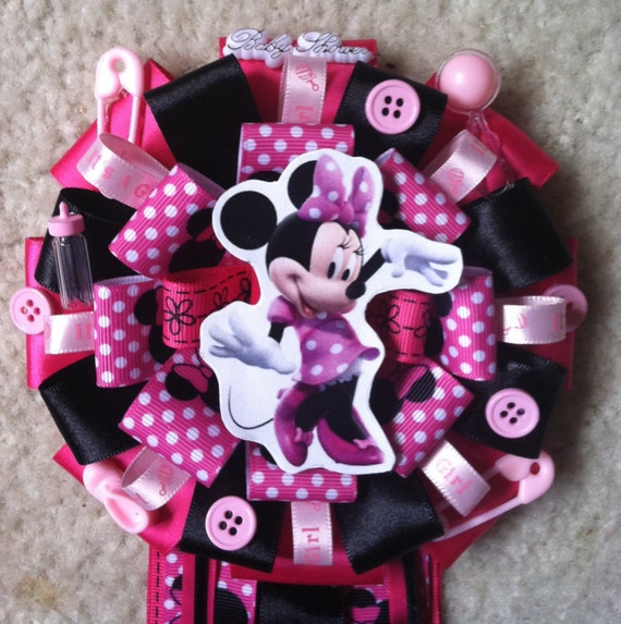 Minnie mouse baby shower mum - Minnie mouse baby shower decorations ...
