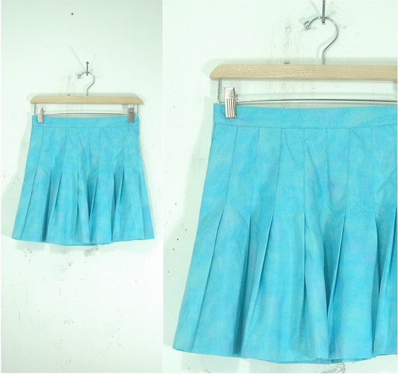 vintage 70s tennis skirt xs by cardinalvintageshop