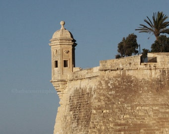 Valetta, Malta.  8x10 color photo, unframed