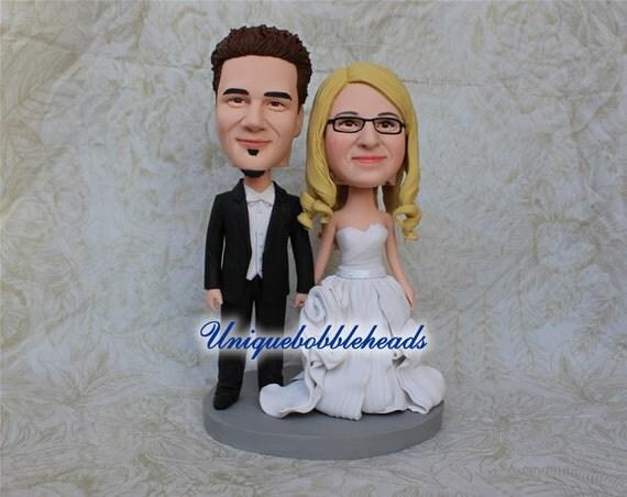 custom bobbleheads custom bobble heads wedding cake topper. Black Bedroom Furniture Sets. Home Design Ideas