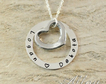 Christmas gift alloy necklace-Mother's Day gift for mom Mother necklace Personalized Mothers Mom Necklace mommy necklace Mom Necklace
