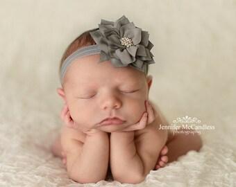 Flower Headband-Baby Headband-Girls Headband-Baby Girl Headband-Newborn Headband-Baby Hairbow-Headband-Hairbows-girl-baby girl