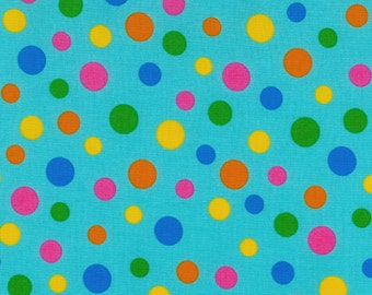 RJR Fabrics Crazy For Dots & Stripes 8172 04 Dots Yardage