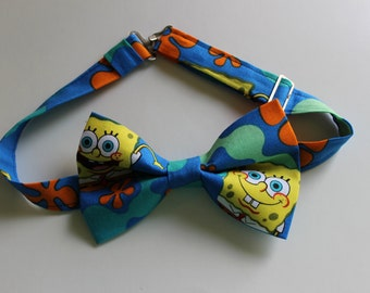 Spongebob Squarepants Bow Tie