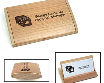 Maple Business Card Case