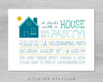 House Warming Party InvitationCard Housewarming