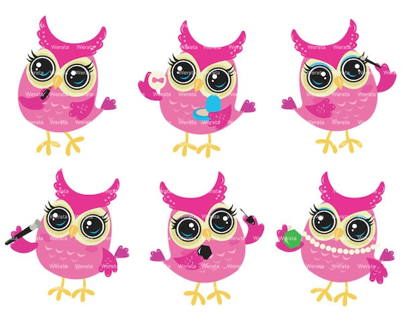 Cute owl clipart clip art - baby owl clipart - school owl clipart ...