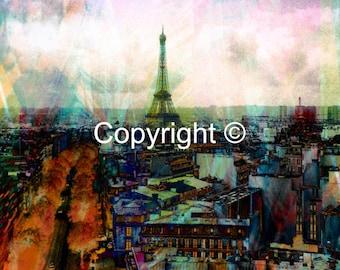 Eiffel Tower Paris No2- Print Run of 100