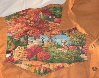 Inclusive pocket western shirt