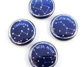 Star Constellations Button Set