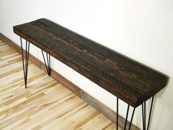 Console Table Side Table Sofa Table Barn Wood By