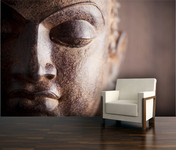 buddha wall mural repositionable peel and stick wall decal