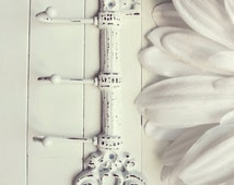 Cast Iron Key Hook / Shabby Chic Decor / Iron Key / Skeleton Key / Wall Key Holder / Key Rack / Decorative Key Hook / Shabby Chic Wall Hook
