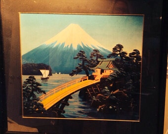 Vintage Japanese Original Art