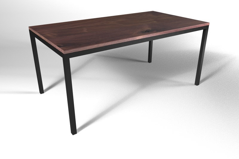 Parsons Table Base industrial furniture metal by DIYFurniture