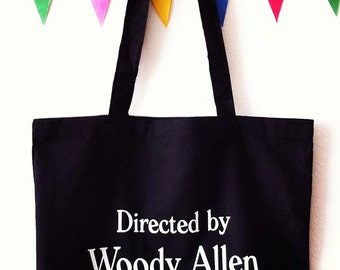 WOODY ALLEN tote bag