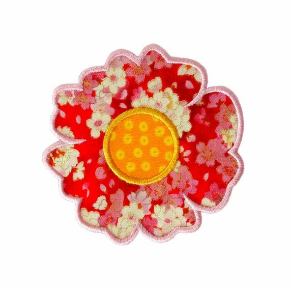 Briar rose applique machine embroidery design pattern in